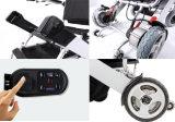 Fauteuil roulant se pliant léger en aluminium du pouvoir D05 avec la batterie au lithium