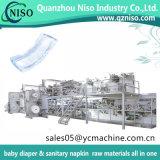 La pleine traction automatique servo de bébé de Huggies sur la formation de bébé de couche-culotte halète la couche-culotte faisant la machine avec Mitsubishi