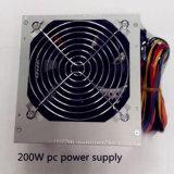 Sola fuente de alimentación de la PC de la fuente de alimentación de la conmutación del ventilador 200W ATX