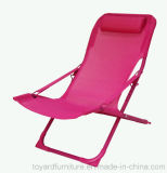 Klassischer Form-moderner im Freien Garten-Möbel-Aluminiumstapel-faltender Strand-Stuhl