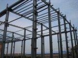 Almacén azul del acero de la estructura de acero de la pared del color