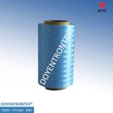 UHMWPE Fibe/fibra de /Hppe Fiber/PE de la fibra del polietileno (fibra coloreada) (TM30-1600D-Blue-V001)