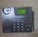 Telefono senza fili fisso telefono da tavolino di GSM con il multi linguaggio e l'antenna radiofonica di FM TNC