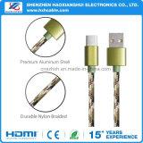 Tipo cavo di carico del USB 3.1 di C 2.1A per il cellulare