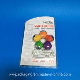 Plateau clair d'ampoule de la Chine pour l'empaquetage en plastique électronique