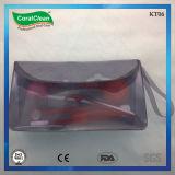 Orto kit nel sacchetto di viaggio grigio, kit ortodontico 8 in 1