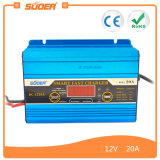 Cargador de batería del fabricante 12V 20A de Suoer (DC-1220A)