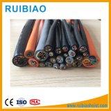 Cabo distribuidor de corrente do tipo da baixa tensão e da grua da construção do material Cu/XLPE/PVC/Sta/PVC Armord do condutor do cobre