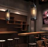 Industrial estilo LED cafetera restaurante decorativo pendiente lámpara de luz