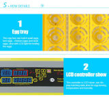Incubatrice completamente automatica dell'uovo di quaglie delle uova di quaglie di Hhd 132