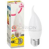Bulbo do diodo emissor de luz da vela de Dimmable E14 5W da luz da vela do diodo emissor de luz