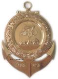 Médaille personnalisée avec haut Polished