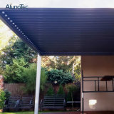 Pergola de alumínio elétrico do telhado da grelha da abertura