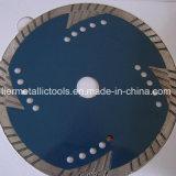 El diamante circular vio las láminas para el corte de mármol del azulejo de Concret