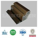 Protuberancia de aluminio anodizada bronce para industrial