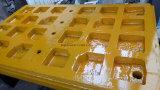 Placas de la trituradora de quijada de Metso C160/C125