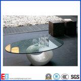 6mm 10mmの建物または家具が付いている12mm斜角を付けられた端の卓上緩和されたガラス