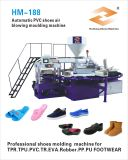 Автоматическая машина инжекционного метода литья ботинка PVC 2 цветов