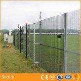 PVC上塗を施してある反上昇の塀および電流を通された358塀