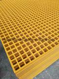 """FRP / GRP Rejas y 1-1 / 2"""" de profundidad x 3/4"""" mini malla como material de construcción de alta resistencia"""
