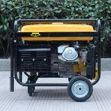 Precio portable refrigerado del generador de potencia de la gasolina del comienzo 15HP del bisonte (China) BS7500h (h) 6kw 6kVA Electirc