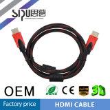 Sipu HDMI de alta velocidad al soporte de cable de HDMI 1080P 19-Pin