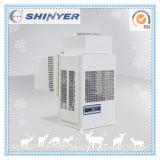 Stanza di conservazione frigorifera con le attrezzatura di refrigerazione