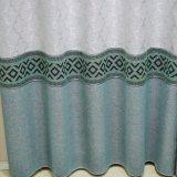 Rideau en guichet d'arrêt total de jacquard de polyester pour l'hôtel (30W0040)