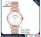 Uhr der Edelstahl-Armbanduhr-Leder-Uhr-Quarz-Männer (DC-8941)