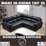 Sofá tradicional de la venta caliente de cuero sección de la sala de estar