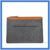La fabbrica fa il sacchetto casuale personalizzato della cartella del computer portatile ritenuto lane, sacchetti di mano portatili di promozione calda con la chiusura lampo
