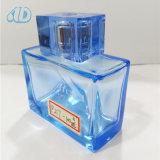 Bottiglia di profumo di vetro dello spruzzo del quadrato di colore Ad-P217