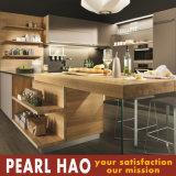 Gabinete de cozinha simples personalizado da melamina do MDF do estilo