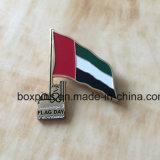 Pin de metal para o dia de bandeira dos UAE