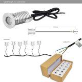 lampada impermeabile esterna dell'indicatore luminoso di lampadina di CA 110V 220V LED di 3W IP67