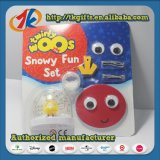 Изготовление Китая ягнится игрушка глобуса снежка игрушки DIY