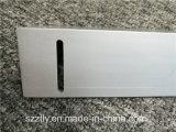 Profilo di alluminio anodizzato spazzolato personalizzato dell'espulsione con lavorare di Cnv