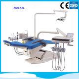Unité de chaise dentaire médicale en cuir véritable avec système tactile