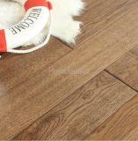 ヒッコリーによって設計される木製のフロアーリングか堅材のフロアーリングの/Solidの木製のフロアーリング