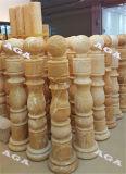 난간 또는 란 또는 기둥 윤곽을 그리는 자동적인 돌 선반 절단기
