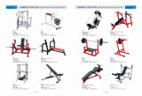 Banco de potencia clásico Fitness Hammer Strength Gym Equipment
