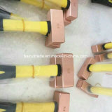 Латунный зубильный молоток 1lb, молоток шкалирования безопасности латунный