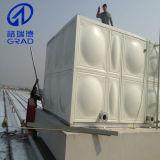 Premier réservoir d'eau utilisé d'acier inoxydable de lutte contre l'incendie de toit