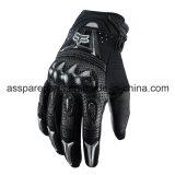 Черное волокно углерода качества резвится перчатки для всадника мотоцикла (MAG13)