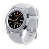 Teléfono elegante del reloj de Bluetooth con el monitor del ritmo cardíaco
