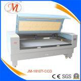 Grande máquina de gravura do vidro orgânico com câmera de Optioning (JM-1810T-CCD)