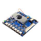 cartão-matriz industrial portuário do guarda-fogo de 4*1000m RJ45 Intel com 2 SATA