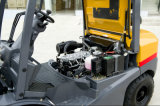 Isuzu 엔진을%s 가진 새로운 자동적인 3tons 디젤 엔진 포크리프트 중국제