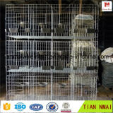 Rust-Proof гальванизированная клетка кролика/клетка птицы/корзина Anmial металла