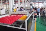 Linha de produção vitrificada corrugada PVC+ASA/PMMA da telha de telhado do plástico